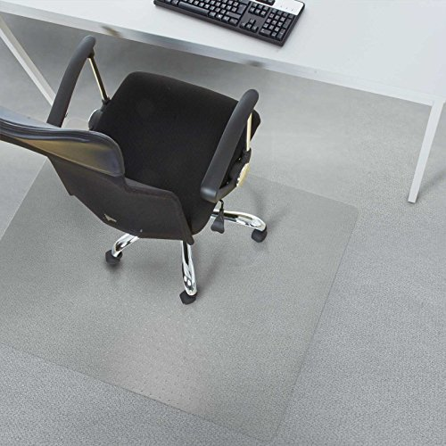 desk chair mat for high pile carpet bouncy saucer office marshal polycarbonate floors es robbins rectangle vinyl extra 46 inch by 60 clear