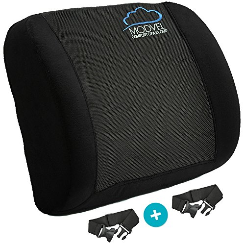 posture corrector for office chair cushion covers diy modvel lower back lumbar support car seat traveling orthopedic pillow waist tailbone pain relief
