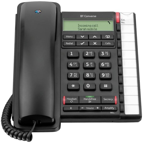 Bt Converse 2300 Telephone Caller Display 10 Redial 100
