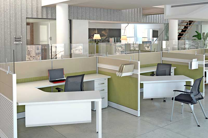 Modular Desks  OfficeMakers