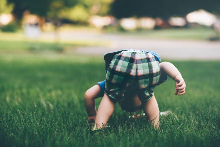 小さい子供の写真