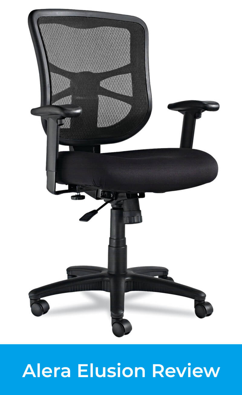 Alera Office Chairs Alera Elusion Series Review Mid Back Vs High Back Included