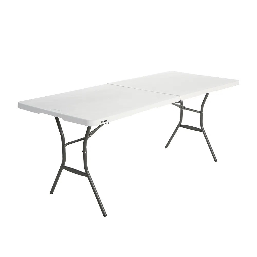Mesa Plegable Lifetime Blanco  OfficeMax