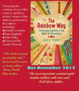 rainbow way postcard