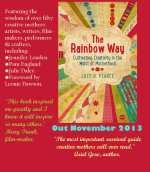 rainbow way postcard