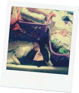 office mum post: laundry