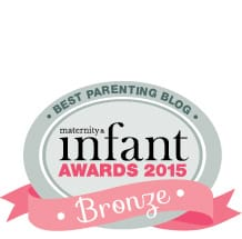 M&I Award_15 parenting blog activity Bronze