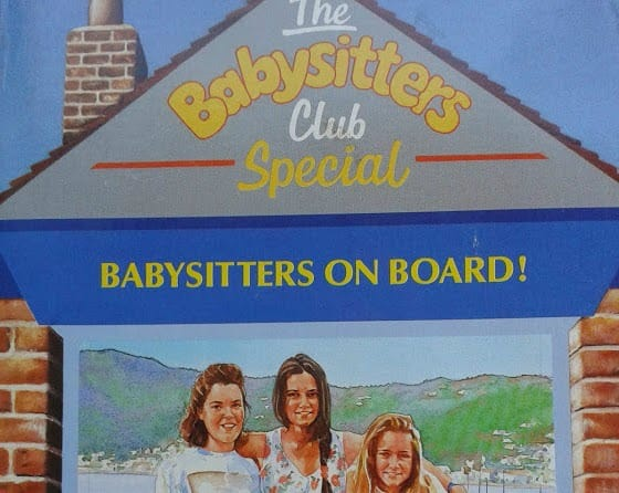 Babysitters Club book: Photo, office mum