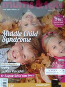 Office Mum Mums & Tots magazine
