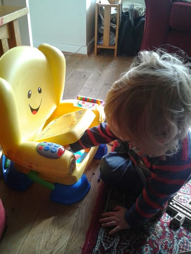 Office Mum review: Fisher Price Smart Stages Chair