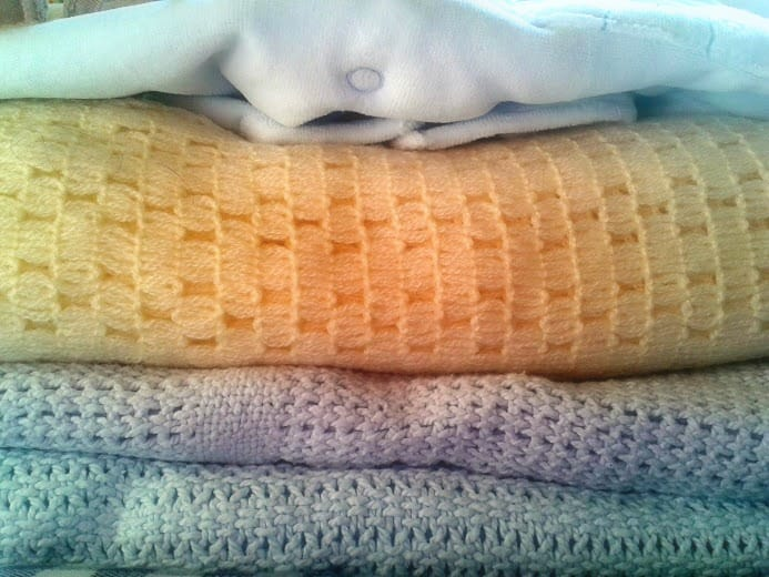 baby blankets: office mum