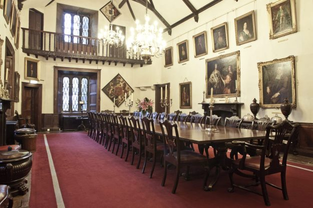 Office Mum Malahide Castle Dining Room