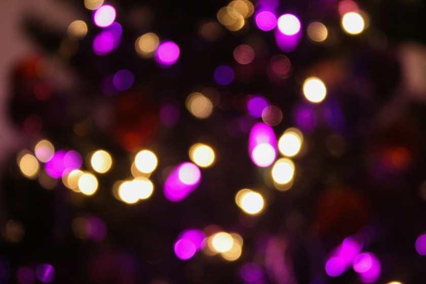 Christmas tree lights - Office Mum