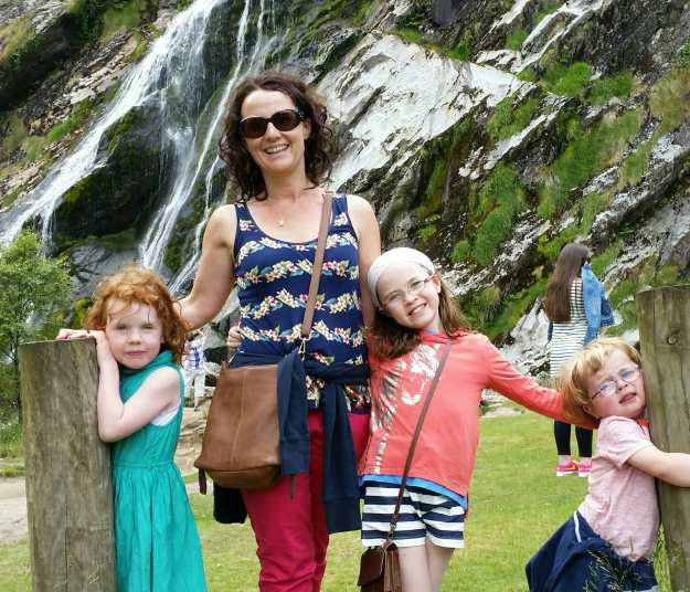 Powerscourt Waterfall - Office Mum
