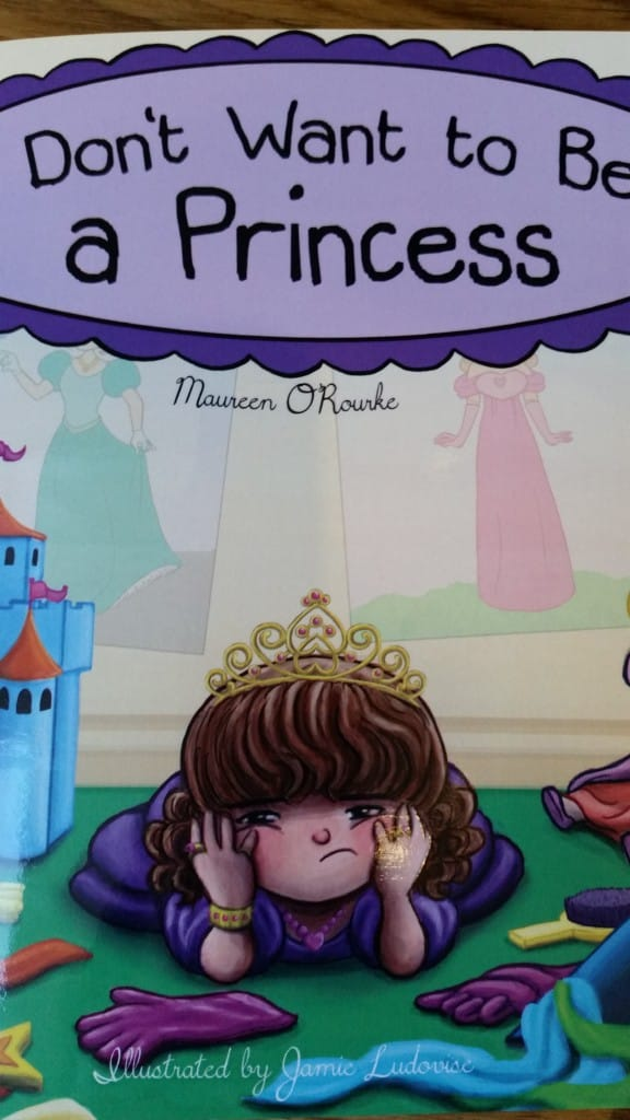 Not a princess thanks - office mum