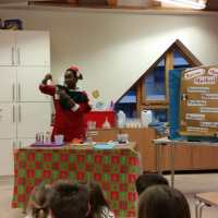 Santa Science at Imaginosity with Three Very Different Kids