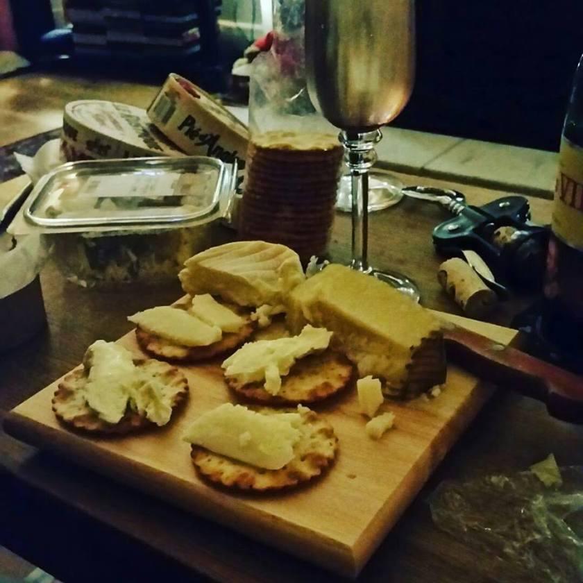 wine and cheese - office mum
