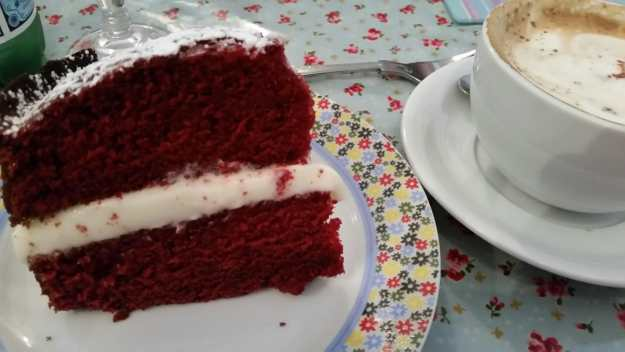 Red velvet cake - office mum