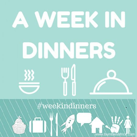 week in dinners