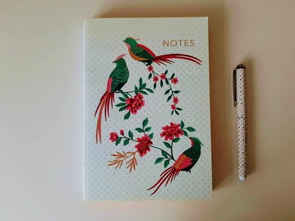 Andrea Mara books – notebook