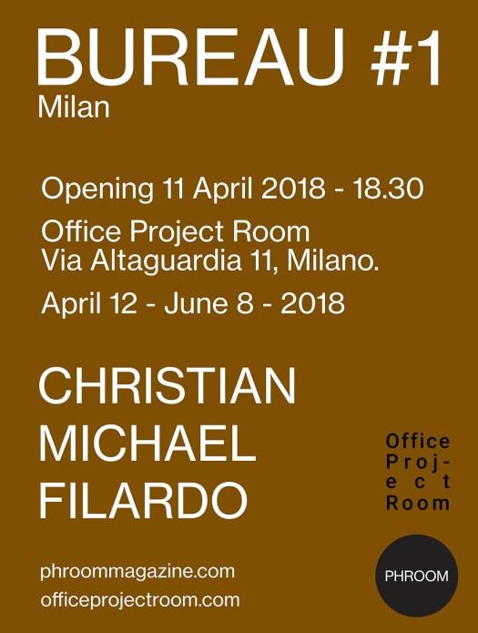 Office Project Room // PHROOM magazine // Christian Michael Filardo