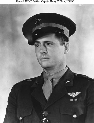 Captain Henry Elrod, USMC