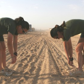Stop Stretching Before Your PFT Run!