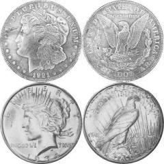 Silver Dollars on Amazon