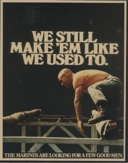 Classic Marines Recruiting Poster