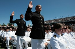 Naval+Academy+Midshipmen+Graduate+Annapolis+Marines