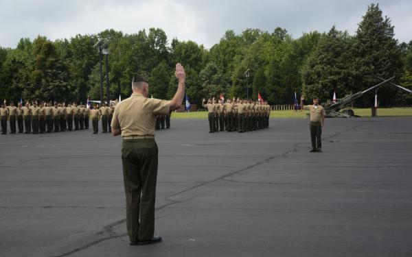 Marine OCS Graduation