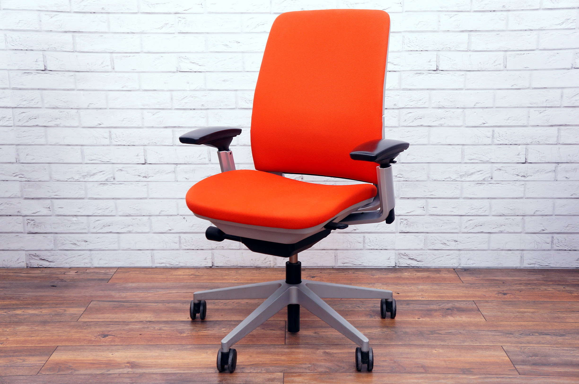 Orange Office Chairs Steelcase Amia In Orange