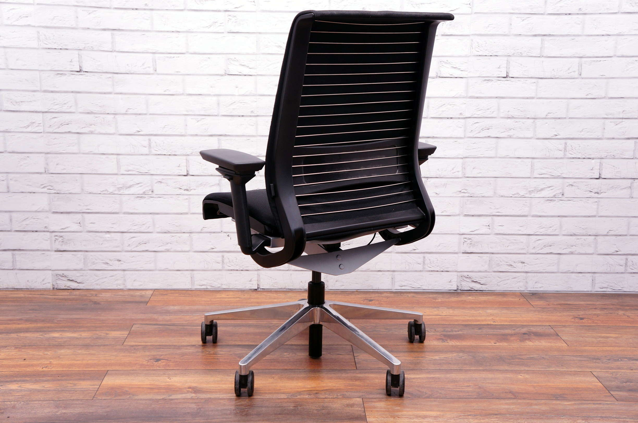 Steelcase Think Chair Steelcase Think Executive Upholstered Task Chair In Black
