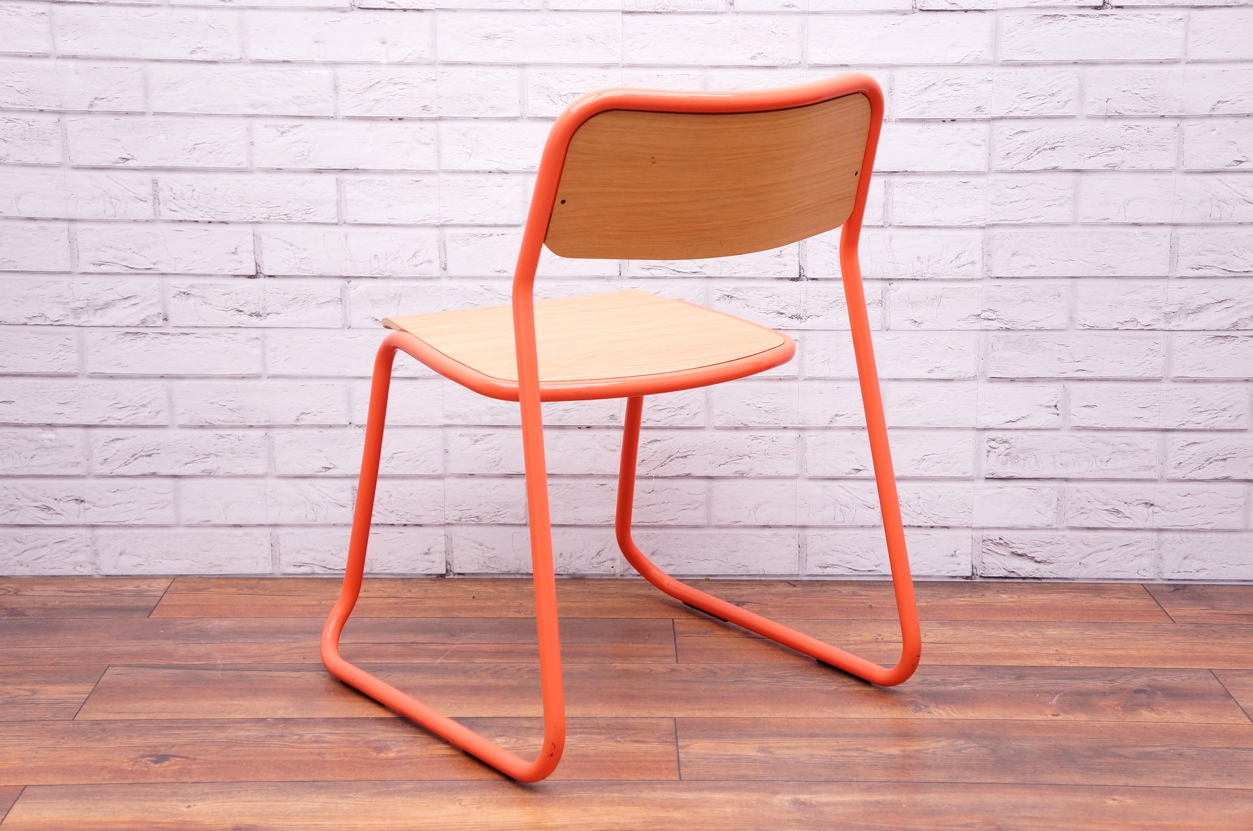 Bounce Chair Naughtone Bounce Chair In Orange