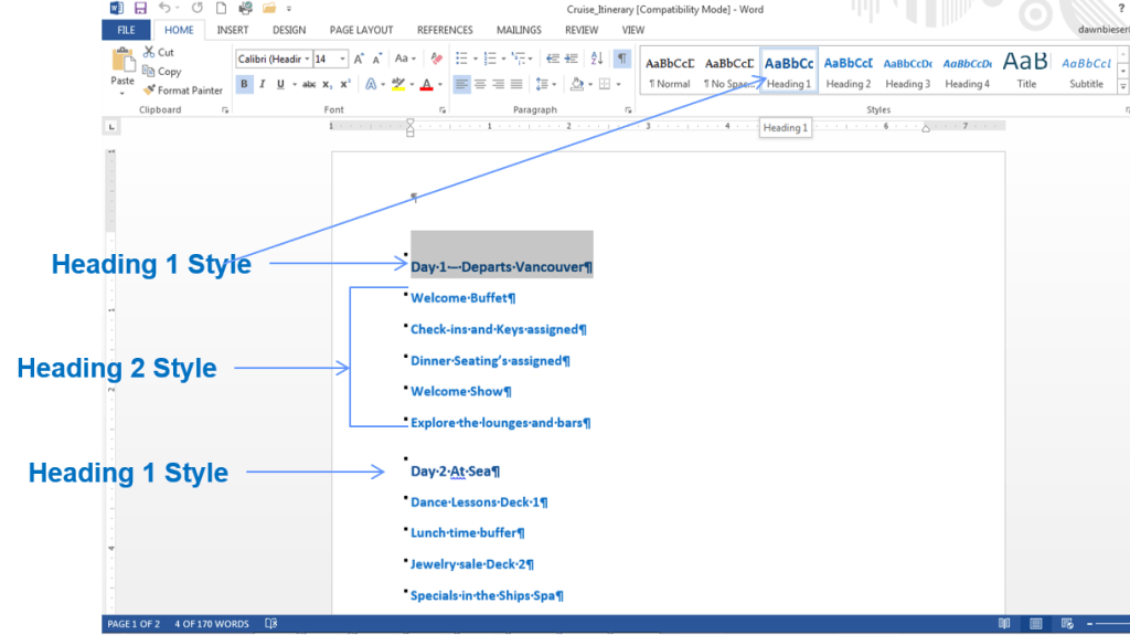 How to Import Slides from a Word Outline into PowerPoint - Office Skills Blog