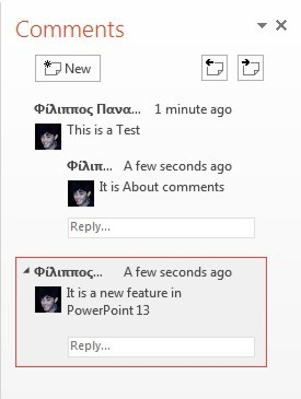 Powerpoint Comments : powerpoint, comments, Comments, Feature, PowerPoint, Smart, Office