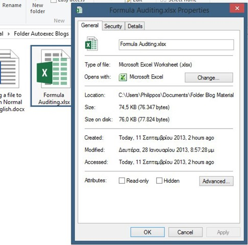 Security – Unblock An Office 2013 File | officesmart