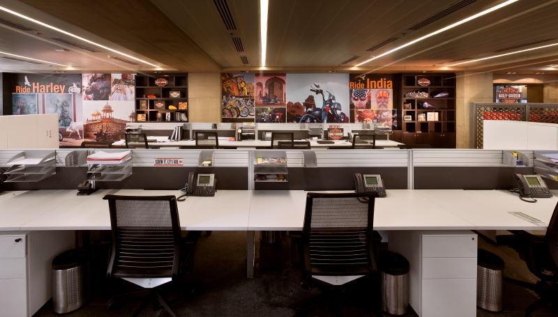 Harley Davidsons India Headquarters  Office Snapshots