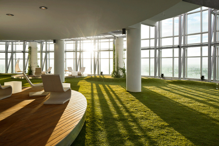 Inspiration Cool Examples of Offices that Use Fake Grass
