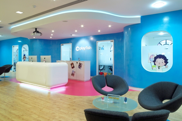 Playfishs Bright and Playful London Offices  Office