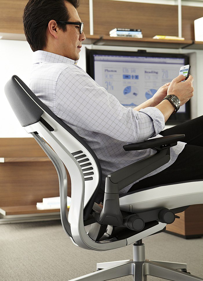 Steelcases Gesture Chair Designed To Support Todays