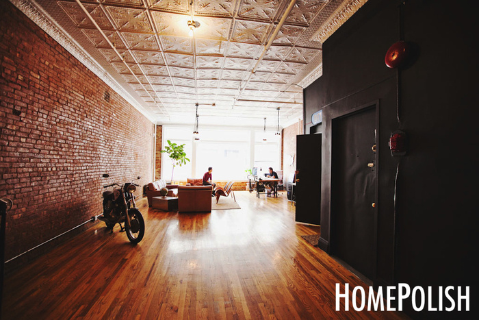 Inside Prince Medias SoHo Home Office Loft  Office Snapshots