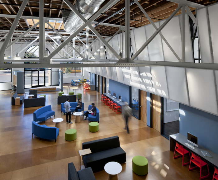 Inside College Tracks Dynamic San Francisco Offices  Office Snapshots