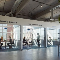 Allsteel Task Chair White Spandex Covers Amazon Inside Dropbox's Urbanized San Francisco Offices - Office Snapshots