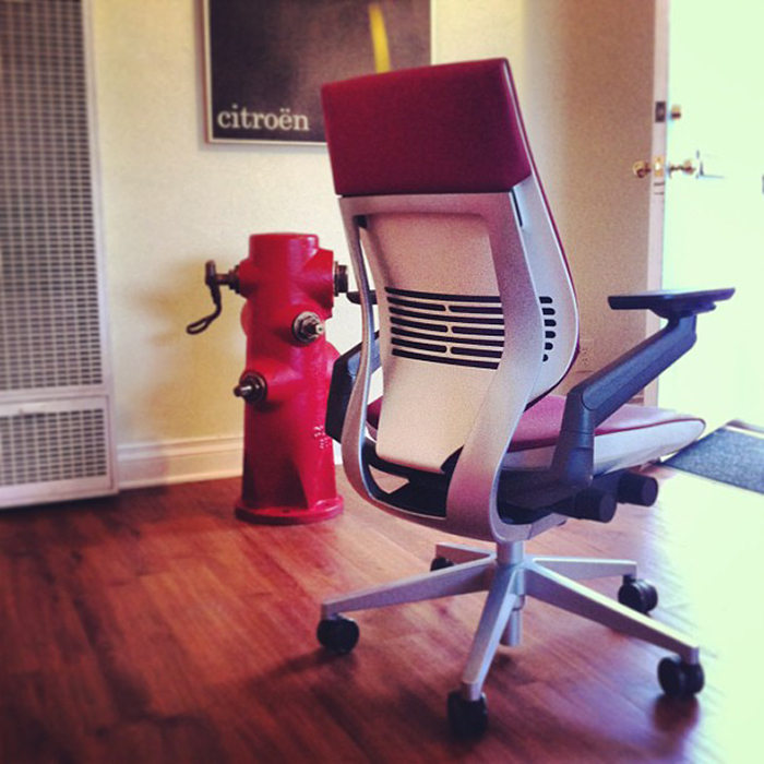 steelcase gesture chair xenon wheelchair hands on the by office snapshots