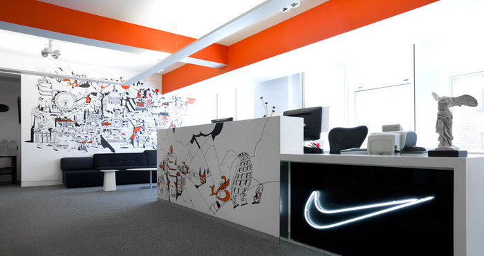 Inside Nikes London Offices  Office Snapshots