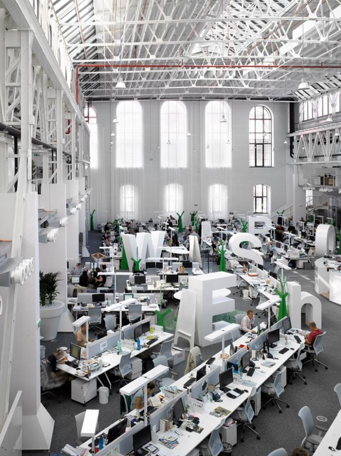9 Inspirational Open Office Workspaces  Office Snapshots