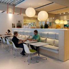 German Kitchen Cabinets Bench Seating Table Inside Vitra's Workplace 'citizen Office' - Office ...