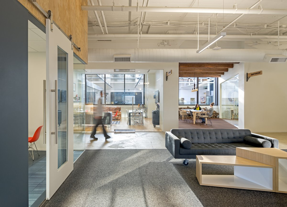 Inside Airbnbs New San Francisco Headquarters  Office Snapshots