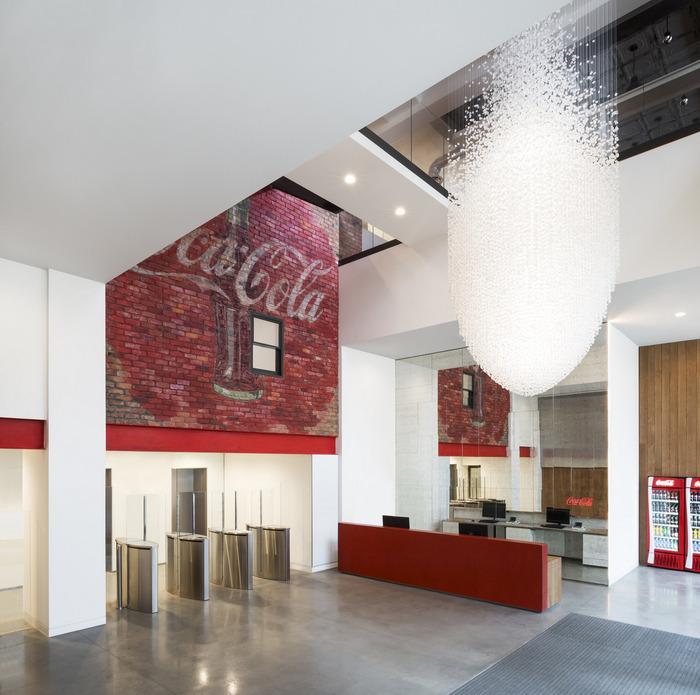 CocaColas UK Headquarters  London  Office Snapshots